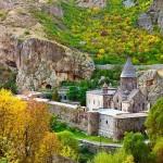 Geghard monastery 4th century