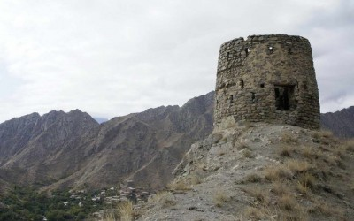 Meghri fortress 10th century