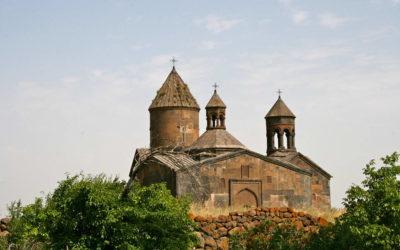 Saghmosavank monastery 13th century