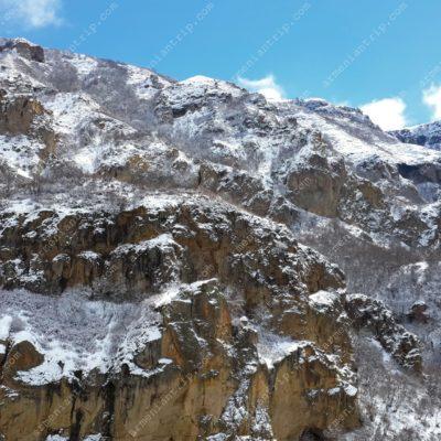 Winter in Jermuk (Armenia)