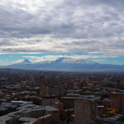 Гора Арарат (вид из Еревана)