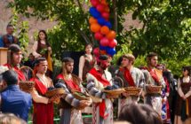 Фестиваль вина в селе Арени