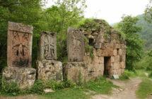 Монастырь Агарцин 13в.