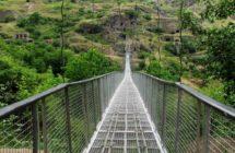Подвесной мост в Хндзореске
