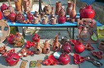 Вернисаж в Ереване