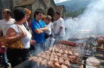 Фестиваль шашлыка в городе Ахтала