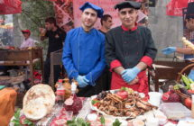 The barbecue festival in Akhtala