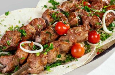 The barbecue festival in Armenia