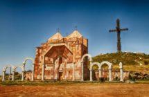 Уникальный Крест-орган «Святой Крест» у подножия горы Арагац