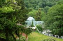 Balneological resort town of Borjomi