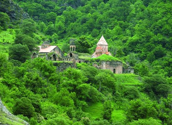 Dadivank monastery 9th-13th century