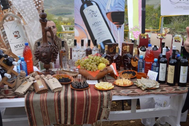 Винный фестиваль в Арцахе