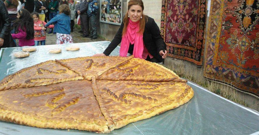 Фестиваль гаты в Армении