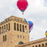 Фото воздушного шара с фестиваля в Ереване в разделе «фото дня» газеты «Telegraph»